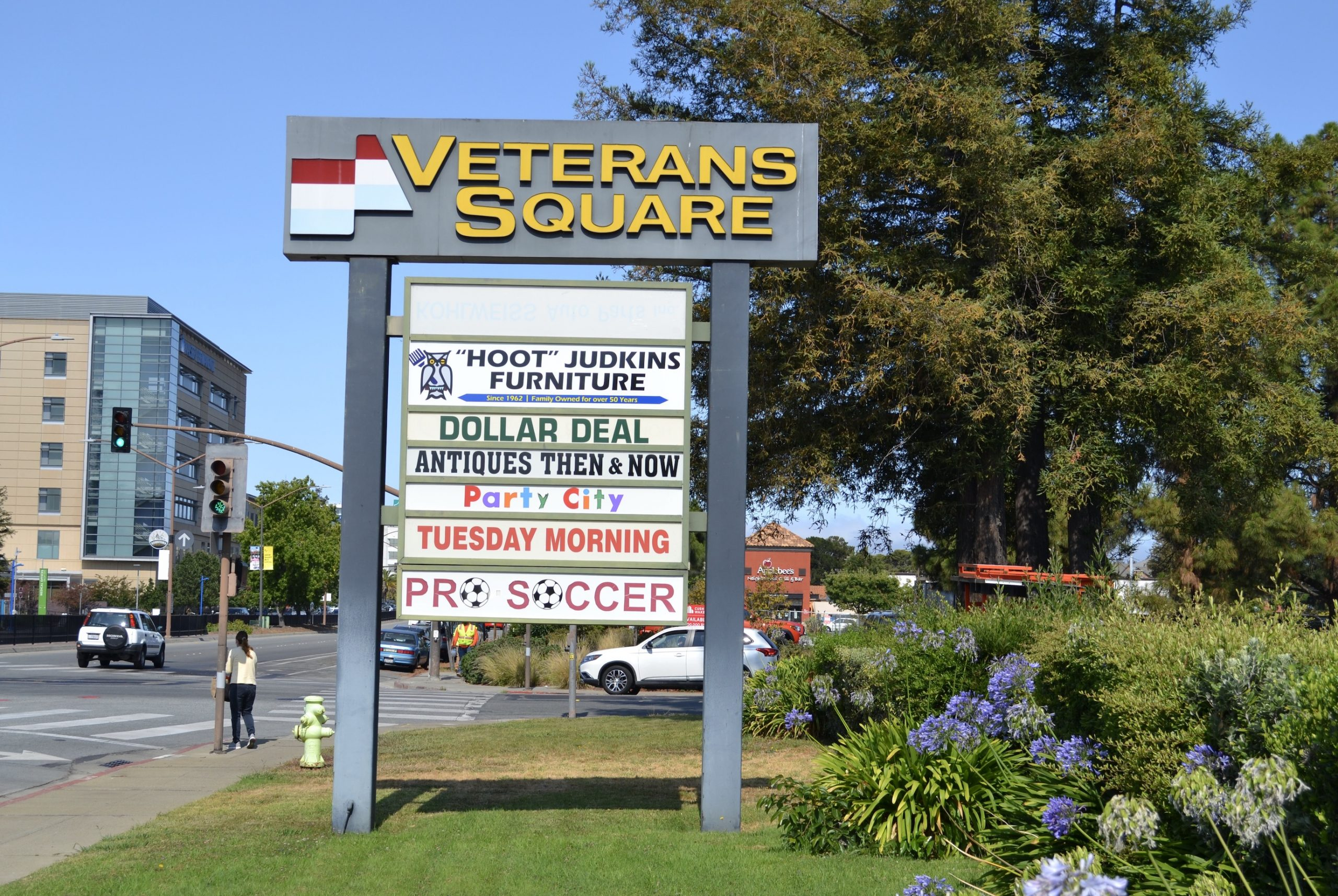 Veterans Square_Sign